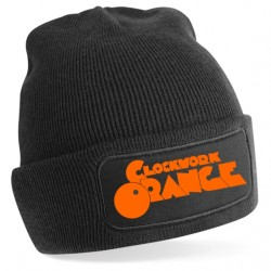 CLOCK WORK ORANGE KNIT CAP