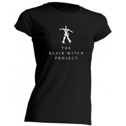 TEE-SHIRT FEMME - THE BLAIR WITCH PROJECT - MANCHES COURTES