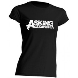 GIRL T-SHIRT - ASKING ALEXANDRIA - SHORT SLEEVE