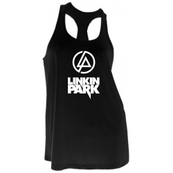 GIRL T-SHIRT - LINKIN PARK - RACER BACK