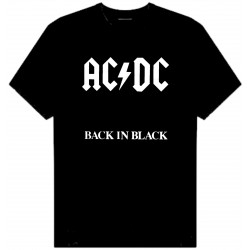 AC/DC BACK IN BLACK ICE T-SHIRT
