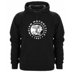 INDIAN MOTORCYCLE HOODED SWEATER